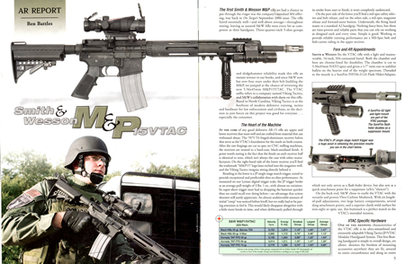 The P3 Ultimate Mono Grip shown on the S&W M&P15VTAC