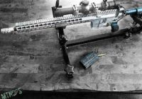 AR-15 Rifle in P3 Ultimate Shooting Rest