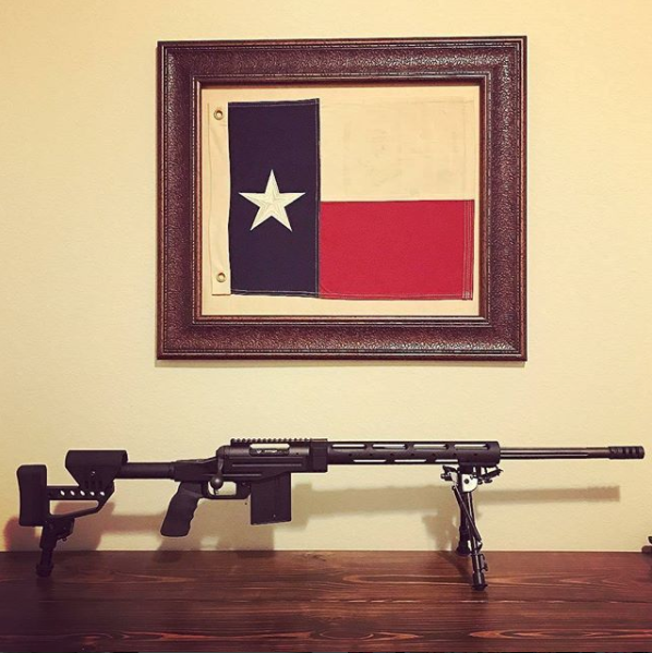Savage 10 BA Stealth with P3 Ultimate Monopod