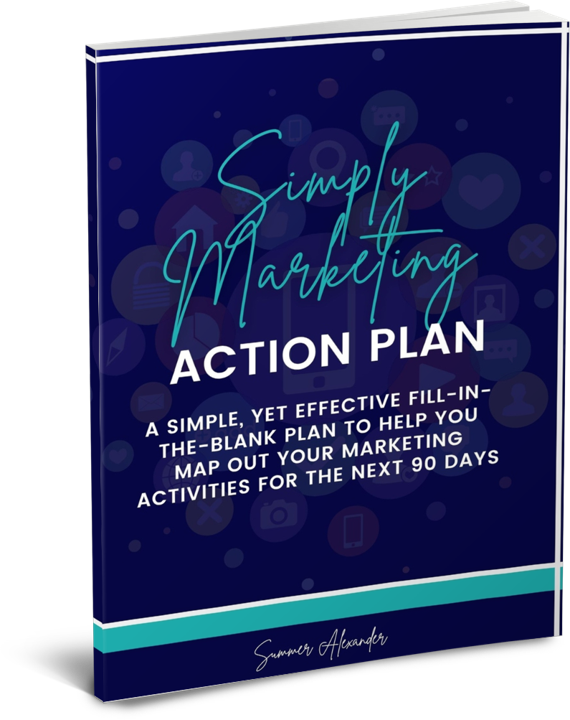 Simply Marketing Plan Workshop & Workbook