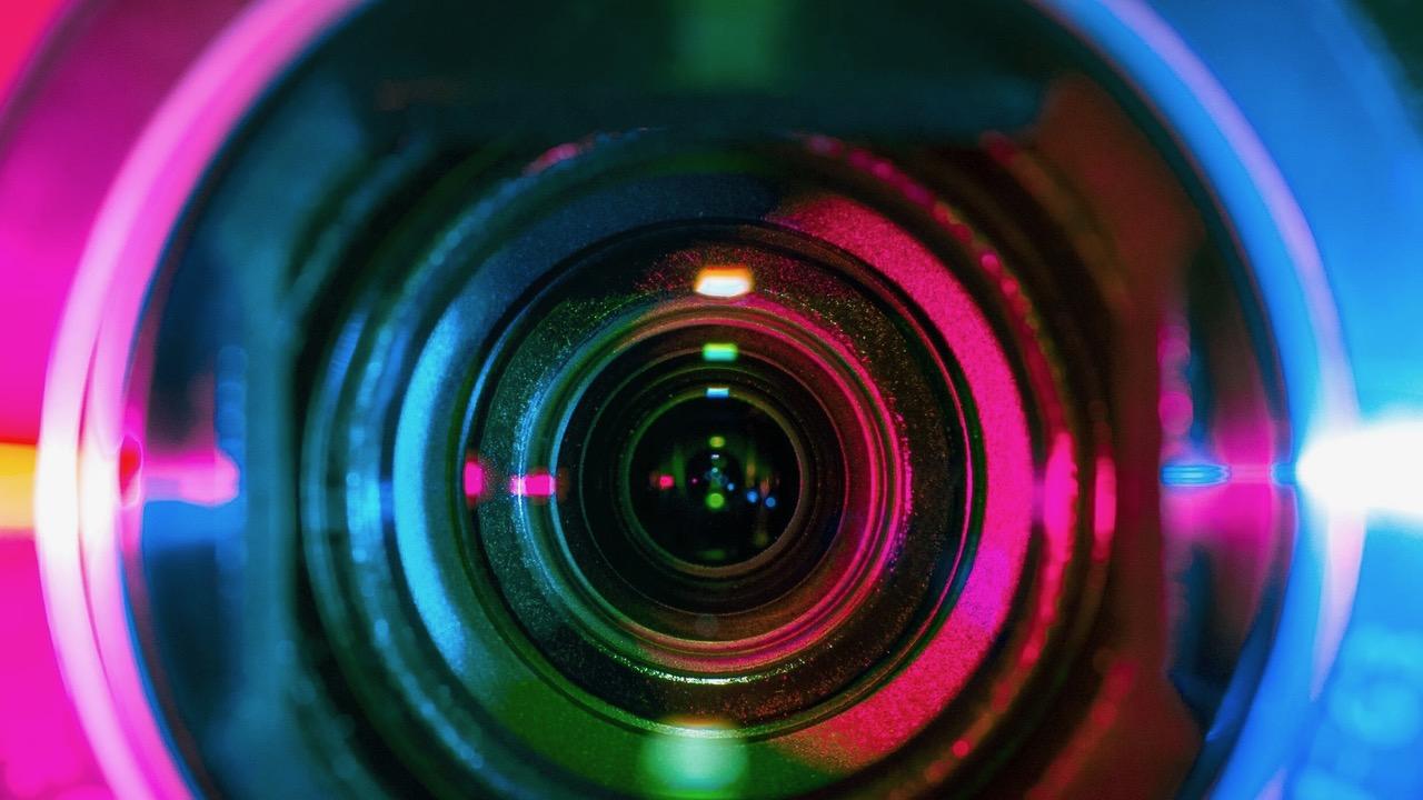 Colorful Lens Photo