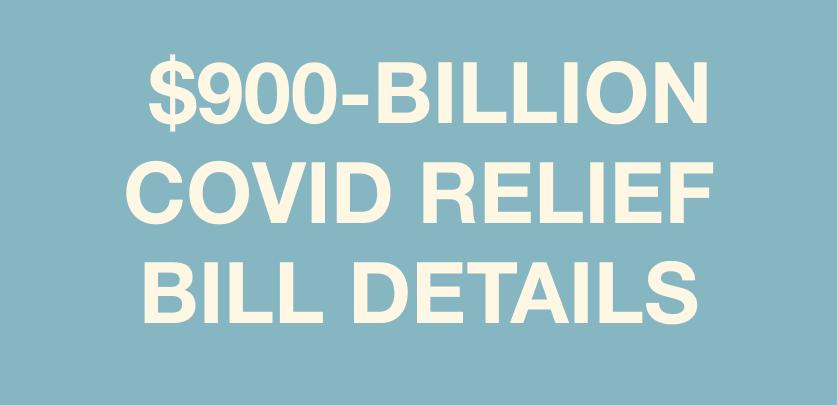 Congress Passes Major COVID Relief Bill