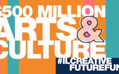 COALITION ASKS FOR $500 MILLION FOR ARTS & CULTURE