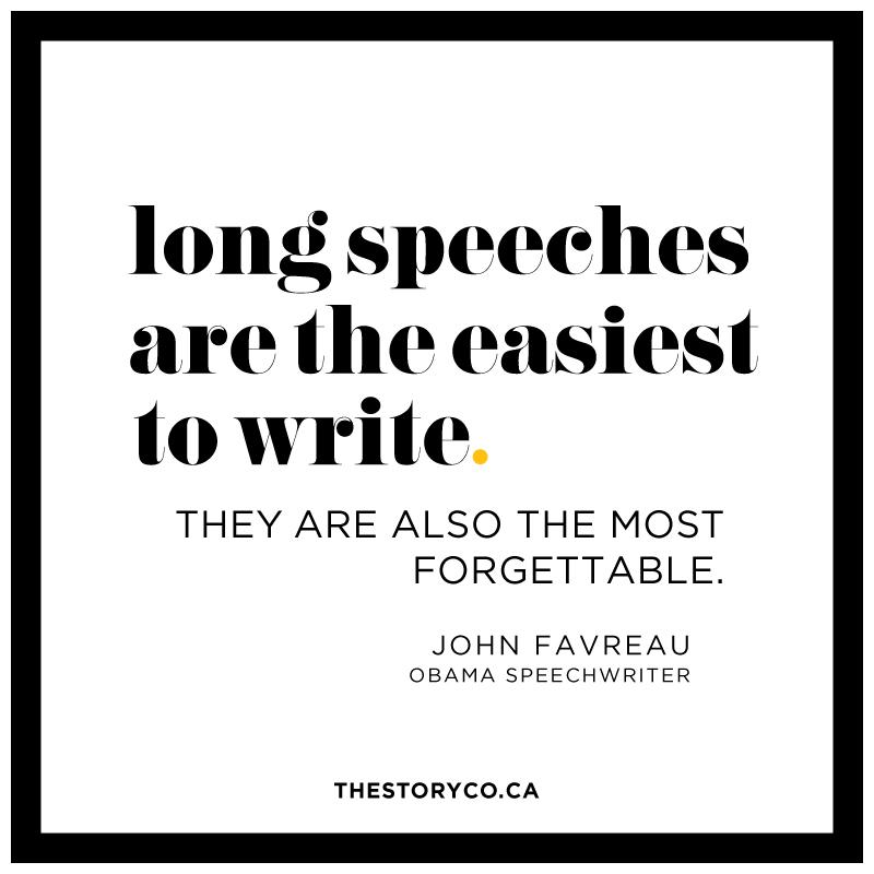 Long Speeches