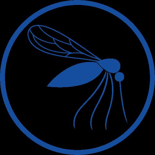 Blue Eucy Mosquito Icon