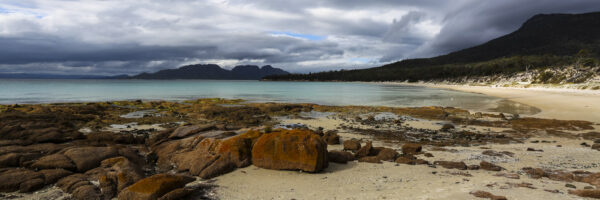 This image was taken from my campsite at Cooks Corner on the Freycinet Peninsula on the East Coast of Tasmania.