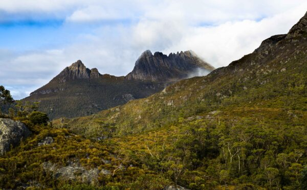 This image was taken on the walk from Ronnie's Creek, past Lake Lilla on the way to Dove Lake in the Cradle Mountain Lake St.Clair National Park, Tasmania, Australia