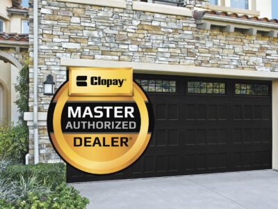 #2 Traditional Double Garage Door