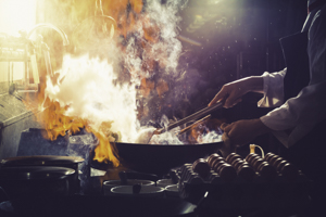 flammable cooking oils