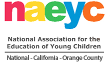 NAEYC Logo and Link - National Association for the Education of Young Children