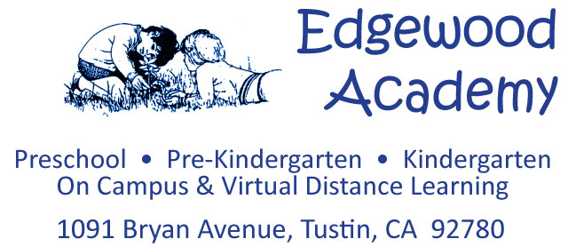 Edgewood Academy logo and contact information