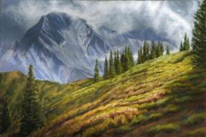 """Daly Peak Zephyrs, 24"""" x 26"""""""