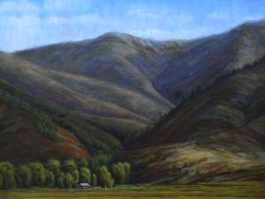 """Dry Woody Creek '09, 18"""" x 24"""""""