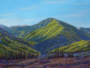 "Green Mountain Ashcroft, 14"" x 16"""