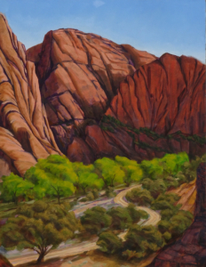 "Mill Creek Canyon, 28"" x 22"""