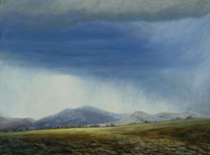"""Pinedale Squall, 36"""" x 48"""""""