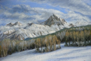"Sneffels Winter, 16"" x 24"""