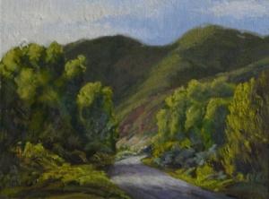 "Snowmass Canyon Trail, 9"" x 12"""