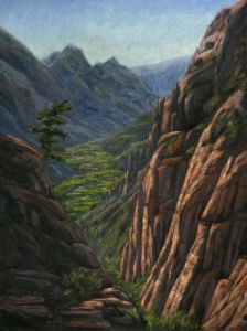 "Zion Angel View, 24"" x 18"""