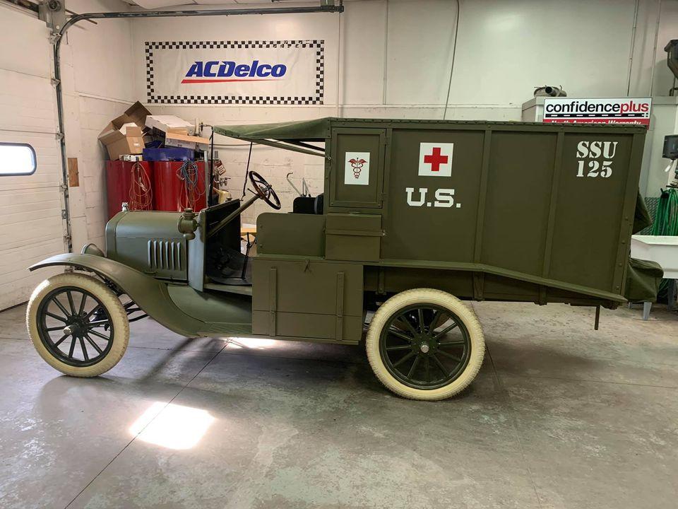 1917 Model T Ambulance