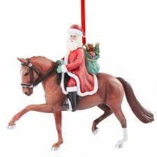 Breyer Grand Prix Santa Ornament