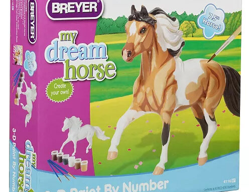 Breyer My Dream Horse 3D Paint By Number