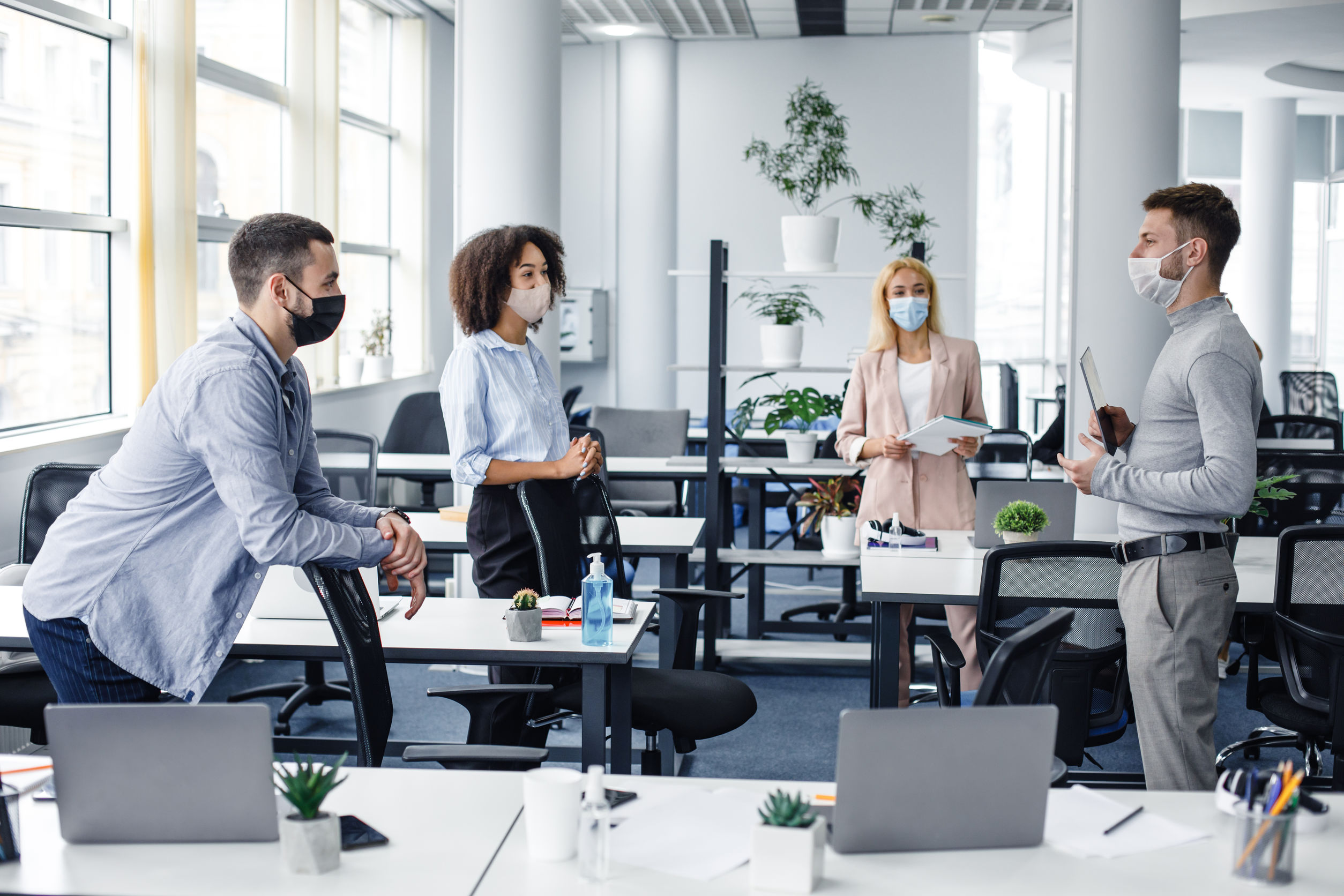 Why Office Mask Wearing Is Still Essential
