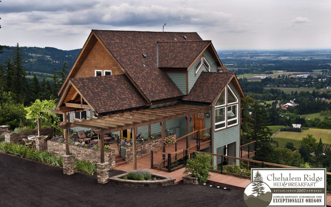 Feature Friday:  Chehalem Ridge Bed and Breakfast