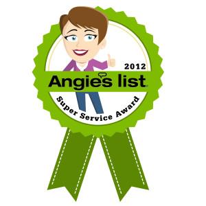 2012 Angie's List Super Service Award