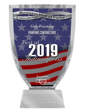 Guy Painting wins best painter of 2019