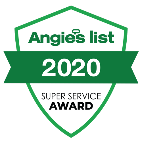 Angie's List 2020 Super Service Award