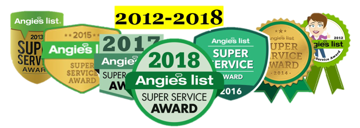 Guy Painting Best service award 2012 - 2018