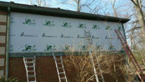 Repair exterior wood siding