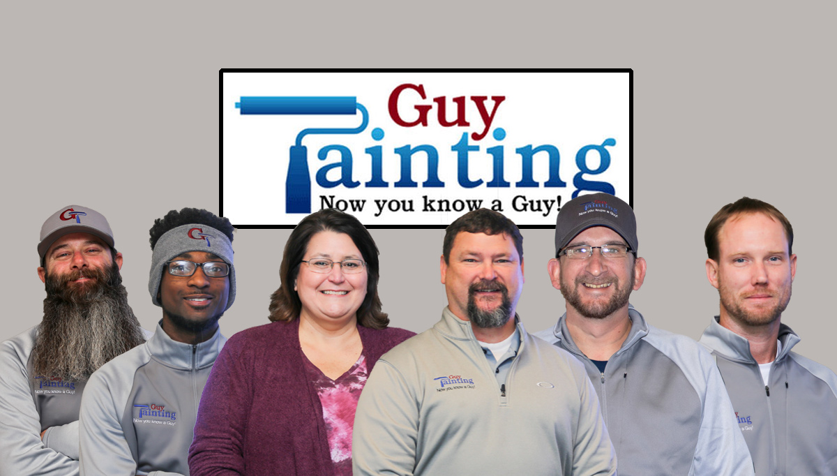 The Guy Painting Staff