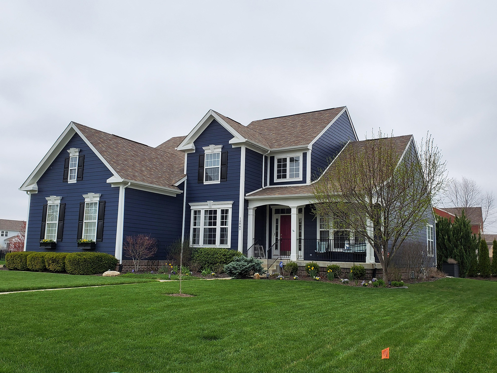 Exterior painting after