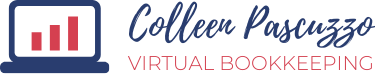Colleen Pascuzzo Virtual Bookkeeping Logo