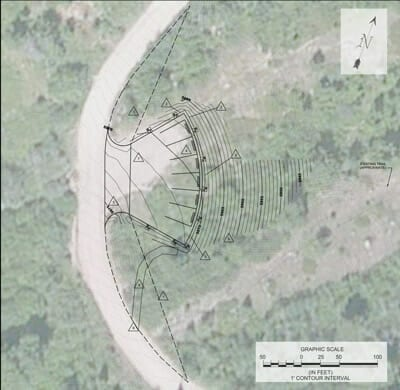 Construction Plan for Springs Parking Area