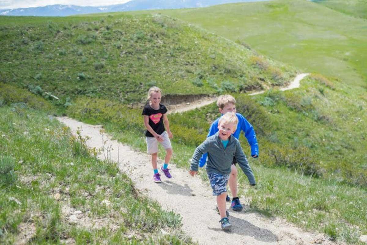 Soldier Ridge Trail and Hidden Hoot Trail