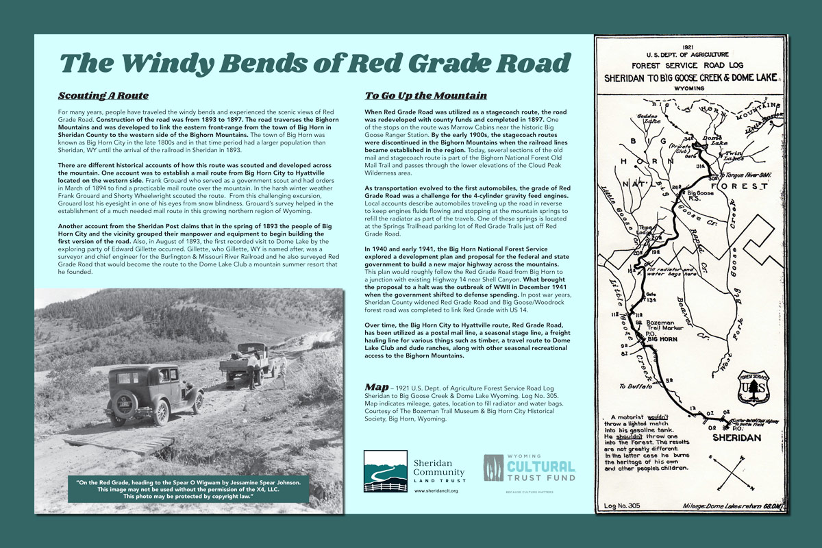 The Windy Bends of Red Grade Road