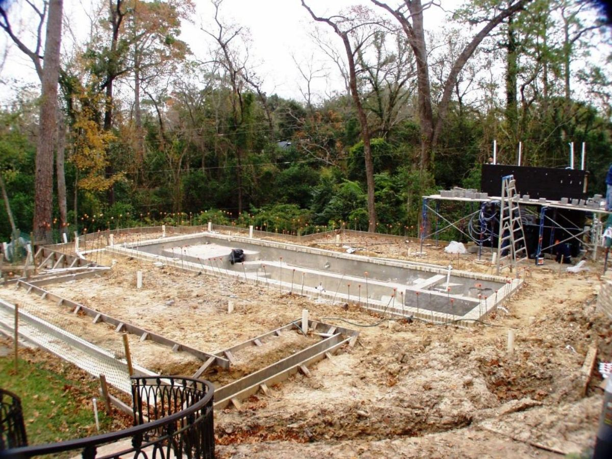 houston tellepsen garden bayou construction