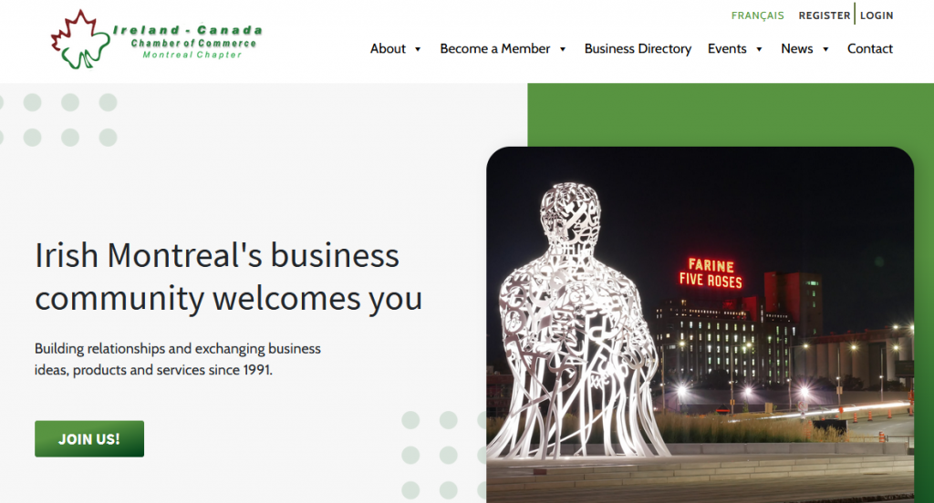 ICCC Montreal website homepage