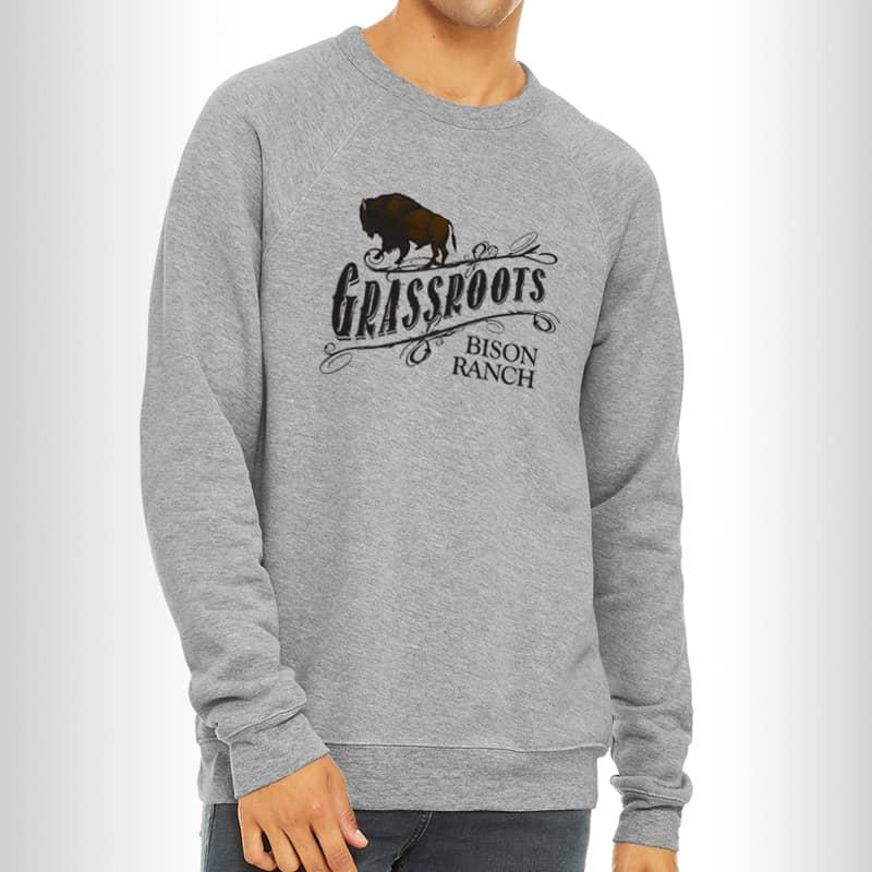 Grassroots Bison Logo Sweatshirt