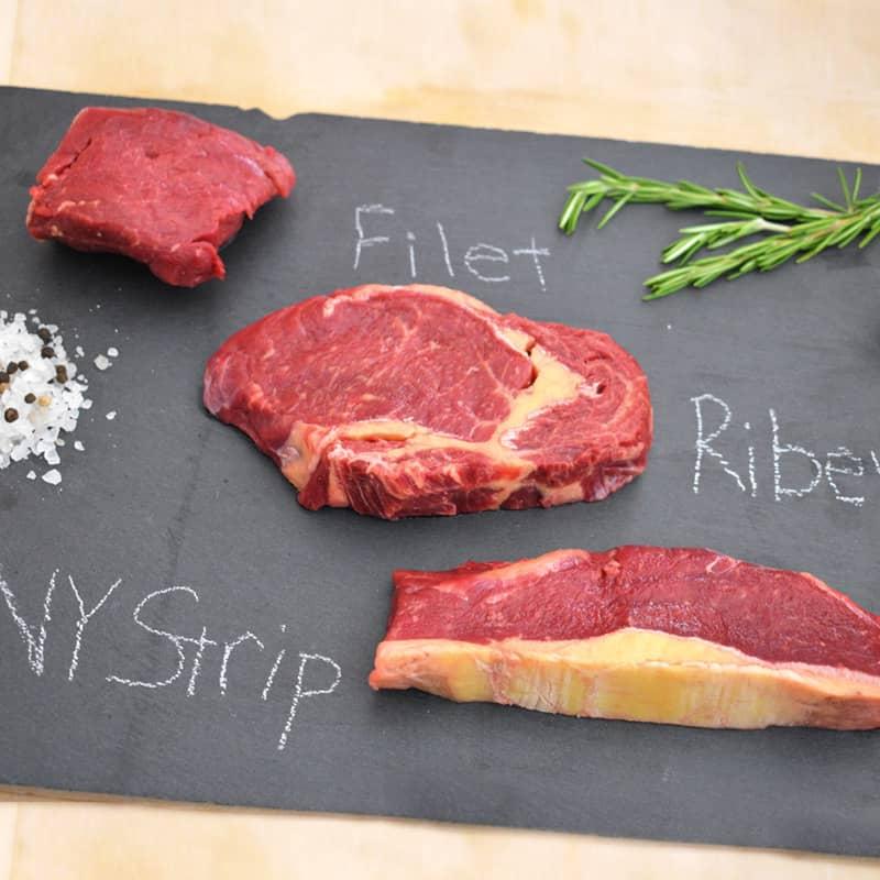 Grassroots Bison Steaks