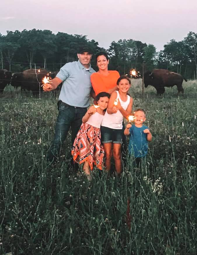 The Thompsons   Grassroots Bison Ranch