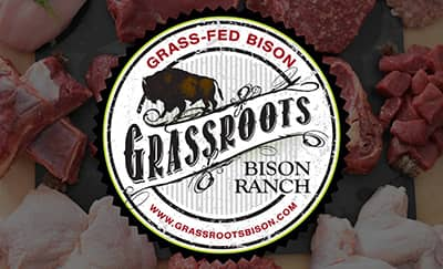 Grassroots Bison Ranch Pastured Meats