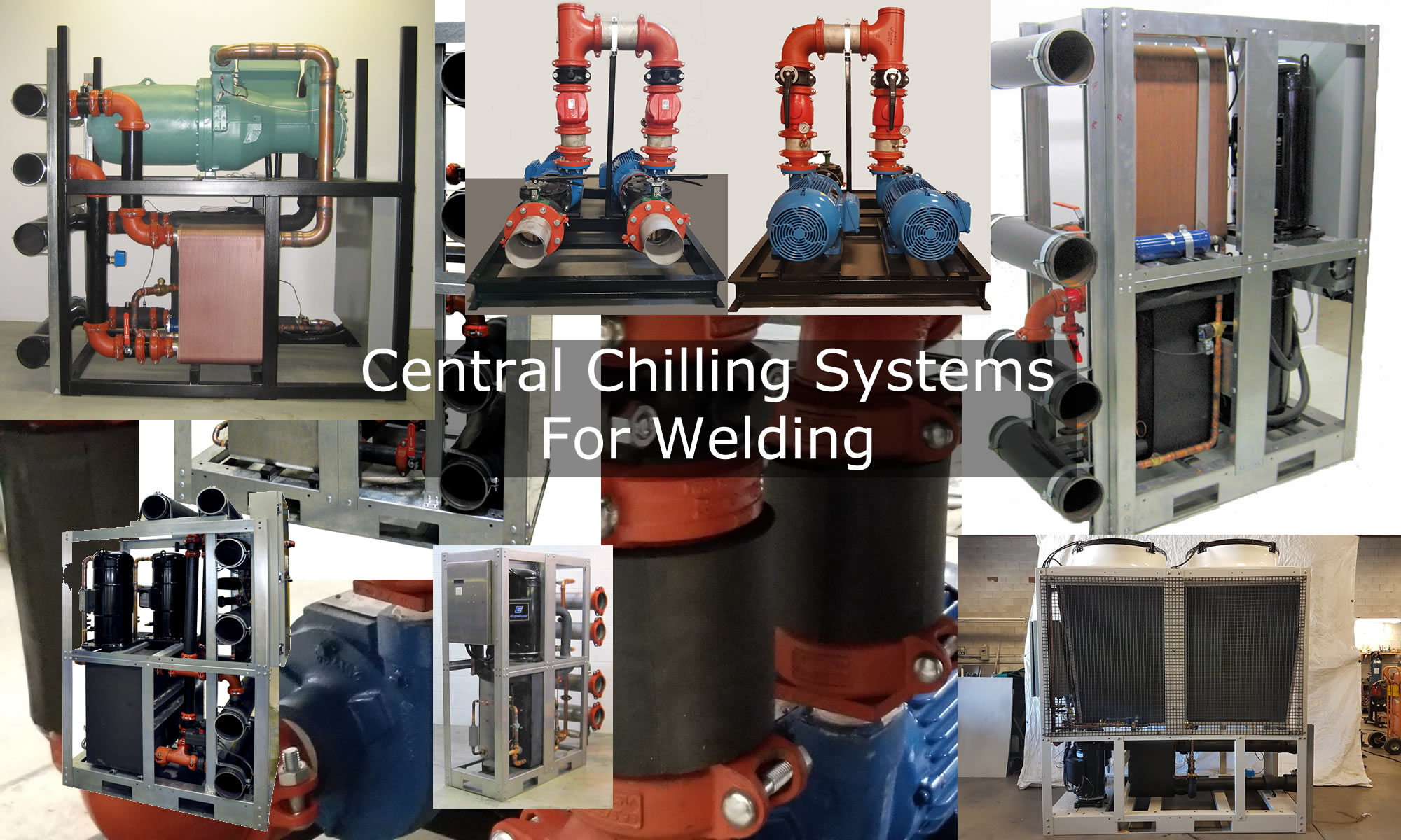 Central Chiller Systems For Welding