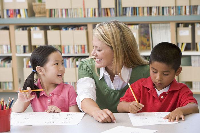 erb tutoring - templeton tutoring - teacher and students
