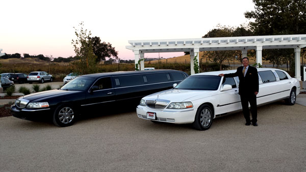new limousine in Paso Robles