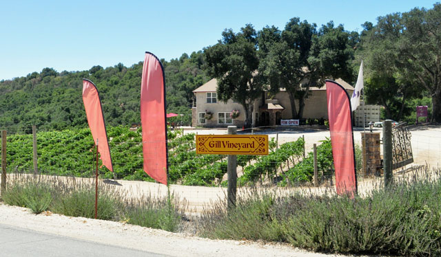 Michael Gill Cellars on Peachy Canyon Road.