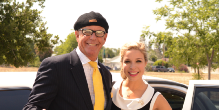 Paradise Limousine - Miss America Wine Tour Paso Robles - Miss America and Paul Eitel